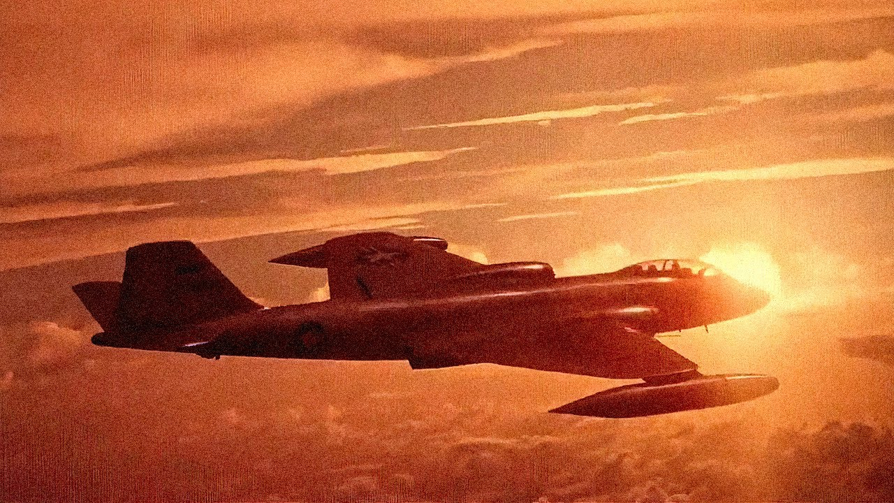 It Never Runs Out of Bombs - Martin B-57 Canberra