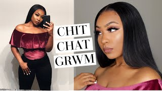 Chit Chat GRWM: HAVE I CHANGED? + LIFE, LOVE, SCHOOL, WEIGHTLOSS & BUSINESS UPDATE