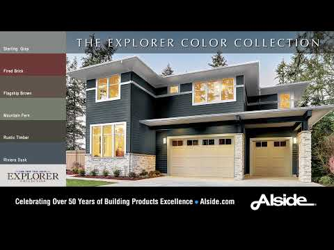 2019 New Alside Siding Colors - The Explorer Collection