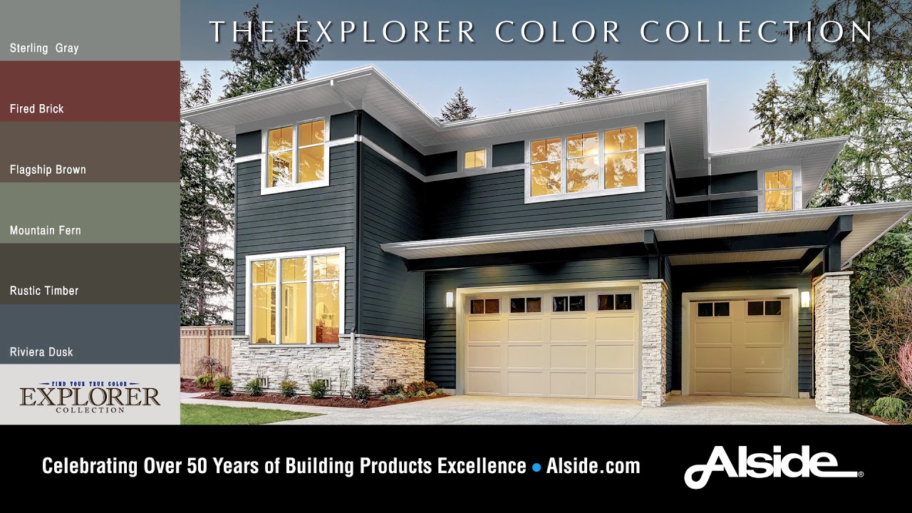 2019 New Alside Siding Colors The Explorer Collection