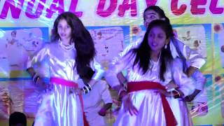 Holi dance from 7th & 8th by Tisha & group pre. by Parihar mam & Patle mam[Annual-2017]
