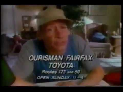 Ernest P Worrell For Ourisman Fairfax Toyota Ad 1990 Windowboxed