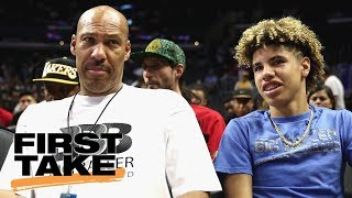 First Take sides with LaVar Ball on LaMelo's NCAA Eligibility | First Take | ESPN