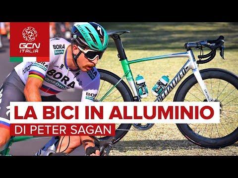 La Specialized Allez Sprint Disc in Alluminio di Peter Sagan