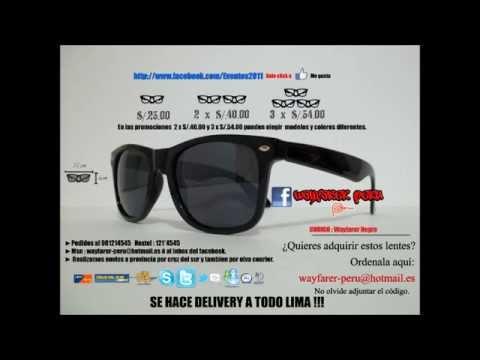 cace0b045841c Lentes Ray Ban Wayfarer Precio Peru minerja.es
