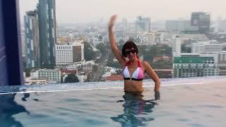 Бассейн на крыше отеля SIAM@SIAM, Паттайя. Тайланд