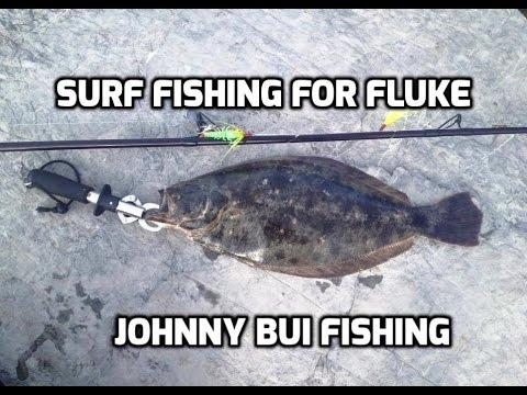 Surf Fishing For Fluke w/ GULP! NJ, 6/24/16