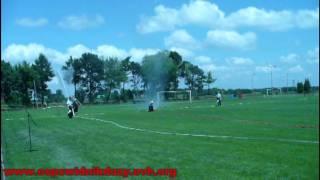 Powiatowe zawody sportowo pożarnicze Bełżyce 2009 ćwiczenie bojowe OSP Świdnik Duży