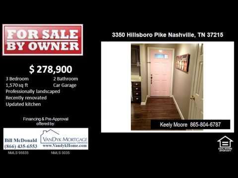 3 Bedroom Home for Sale near Julia Green Elementary School in Nashville TN