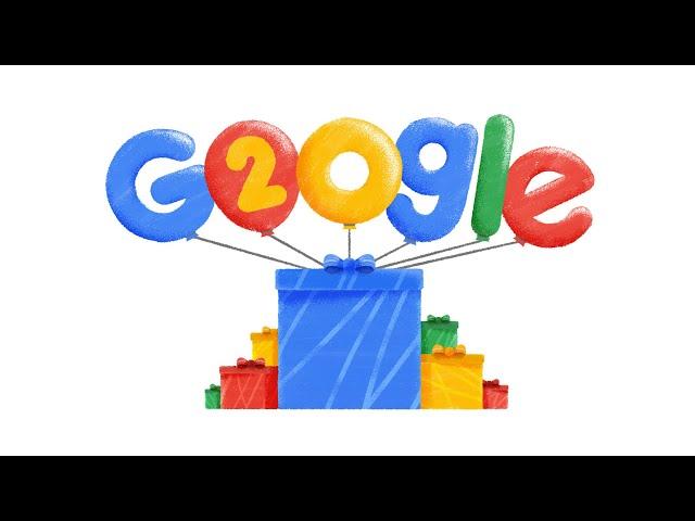 Googles 20th Birthday - US