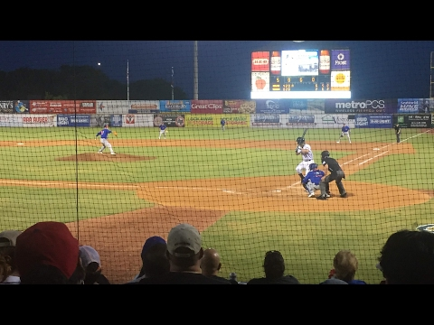 San Antonio Missions baseball game highlights the coach started fighting!!!