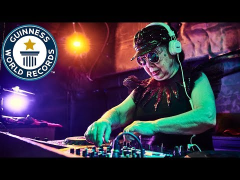 DJ Sumirock: World's oldest professional club DJ - Guinness World Records