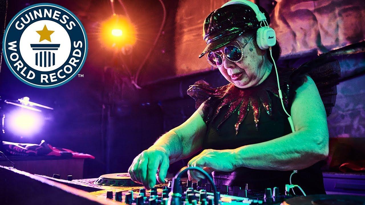 DJ Sumirock: World's oldest professional club DJ