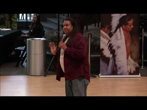 Cherokee Days 2016 - Storyteller Robert Lewis 1