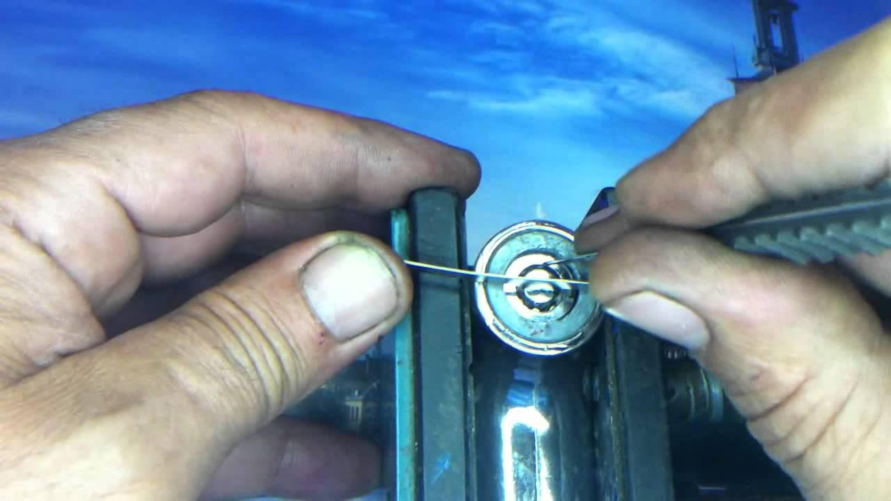 Como abrir una caja fuerte de llave redonda