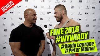 FIWE 2018 #BONUS wywiad z Kevinem Levronem i Peterem Molnarem