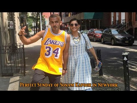 Perfect Sunday of actress Sonam Kapoor with rumoured beau Anand Ahuja in Newyork: NewspointTv