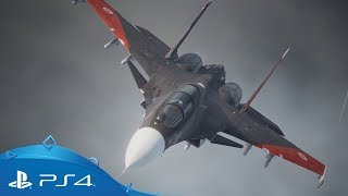 Ace Combat 7: Skies Unknown | E3 2018 Gameplay Trailer | PS4