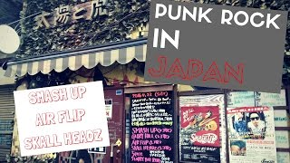 I went to check out some Japanese punk rock in Kobe. Check it out a...