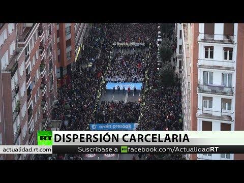 65.000 personas se manifiestan en Bilbao contra la política penitenciaria excepcional
