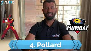 Fantasy Cricket- Updated Top 10 Players List by Pujara | Faboom
