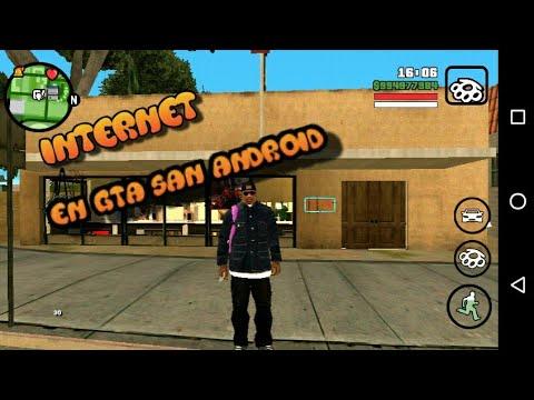 MOD DE CAFÉ DE INTERNET EN GROVER STREET GTA SAN ANDREAS ANDROID| Chucho Mods Z Con Mi Voz REAL