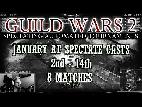 Guild Wars 2 - EU Daily Automated Tournaments - January Compilation thumbnail