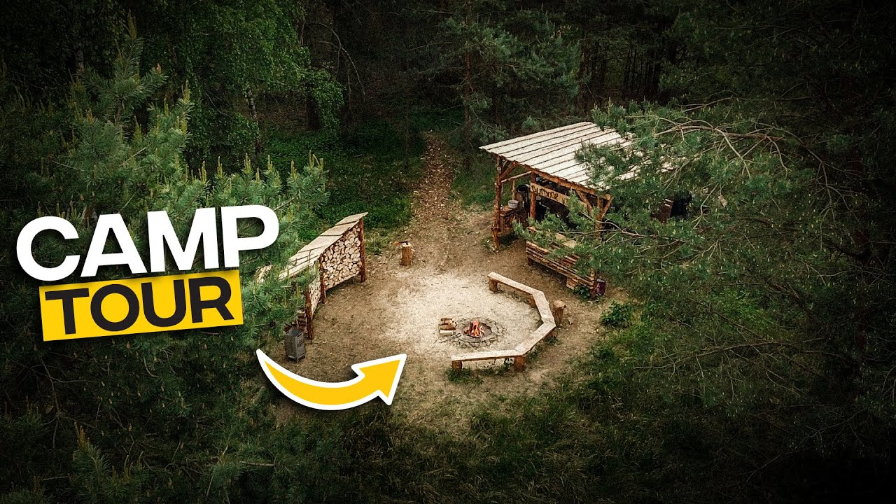 Schwedencamp Tour - 8 Monate nach Baubeginn |Tom Siesing