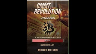 Real company CMMT Revolution , Real business, Passive income (englisch)