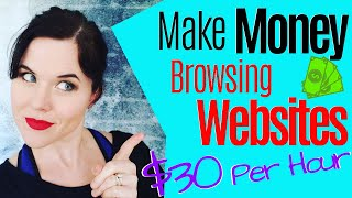 Make Money Online  How to Make $30 Per Hour Visiting Websites [NO COST]