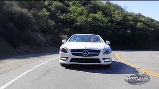 Mercedes Benz SL550 2013 Videos