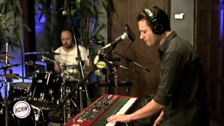 """Augustines performing """"Cruel City"""" Live on KCRW"""