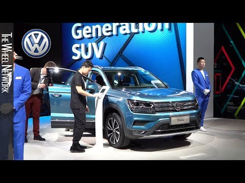 Volkswagen Booth at the 2019 Shanghai Auto Show
