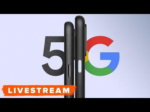 WATCH: Google Pixel 5 Phone Reveal Event - Livestream