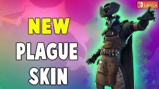 Nueva piel de la peste es loco !! Fortnite Battle Royale Temporada 6