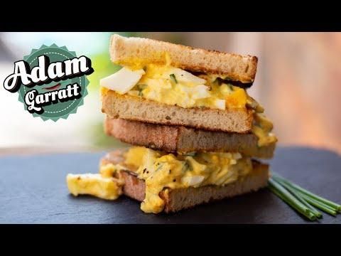 Egg salad recipe (egg mayo) | Lunchbox recipes