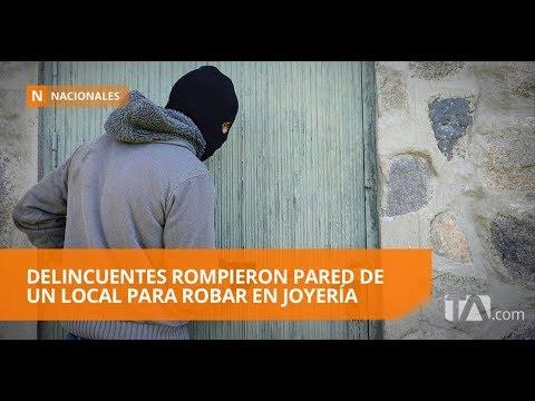 Robaron cincuenta mil dólares en joyas en Guayaquil - Teleamazonas