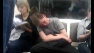 Drunk Guy in Subway