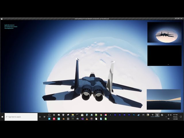 Space Flight to Planet Test in Unreal Engine