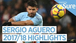 SERGIO AGUERO | GOALS, SKILLS & MORE... | Best of 2017/18