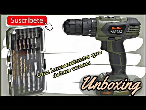 TALADRO INALAMBRICO BAUKER SD GS1041 12V |UNBOXING |MENTA