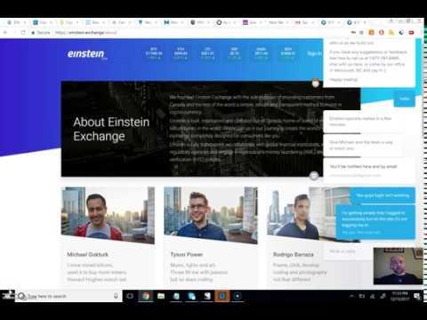 Einstein.Exchange Definitely in Beta (No Review Yet Because I Couldn't Login)