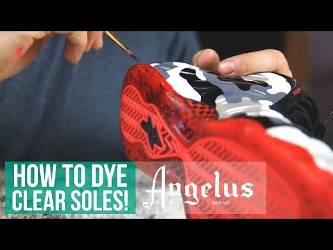 How to Make Sole Dye For Translucent