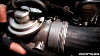 Течи масла с узла дроссельной заслонки на VOLKSWAGEN 1.9 TDI(, 2012-02-01T09:04:50.000Z)