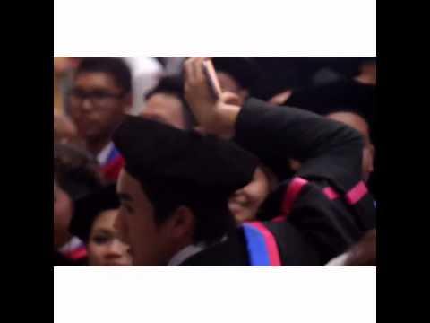 Nadech in graduation ceremony [22/2/2015]