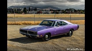 1969 Dodge Charger startup and Walkaround