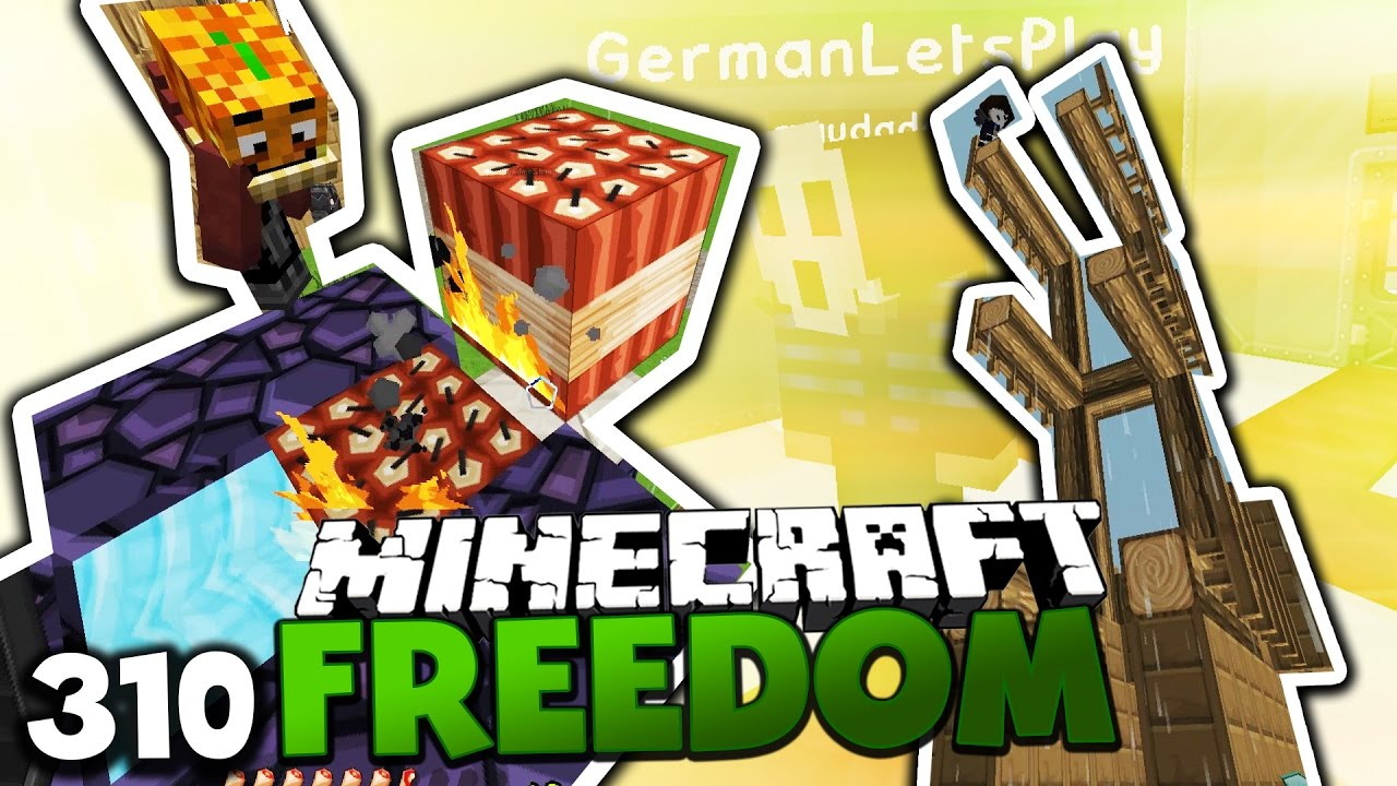 Download AMBOSSINATOR 12.000 & TNT ABWEHR-KANONE! ✪ Minecraft FREEDOM #310 DEUTSCH | Paluten