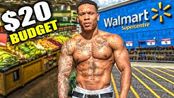 $20 FOR A WEEK OF LEAN BULKING | Walmart Grocery List Shopping Tips