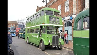 London Transport Country Bus Rally   East Grinstead 30 April 2017