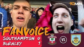 Southampton 0-1 Burnley | Vokes late goals gives Burnley the win over Southampton! | FanVoice